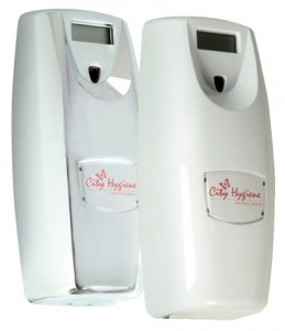 Airoma-Chrome-and-white-airfreshner