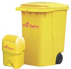 yellow-bins